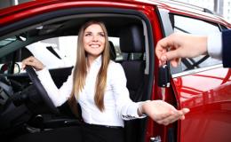 Женщины не умеют покупать авто