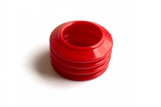 Чехол болта суппорта МАН красный силикон